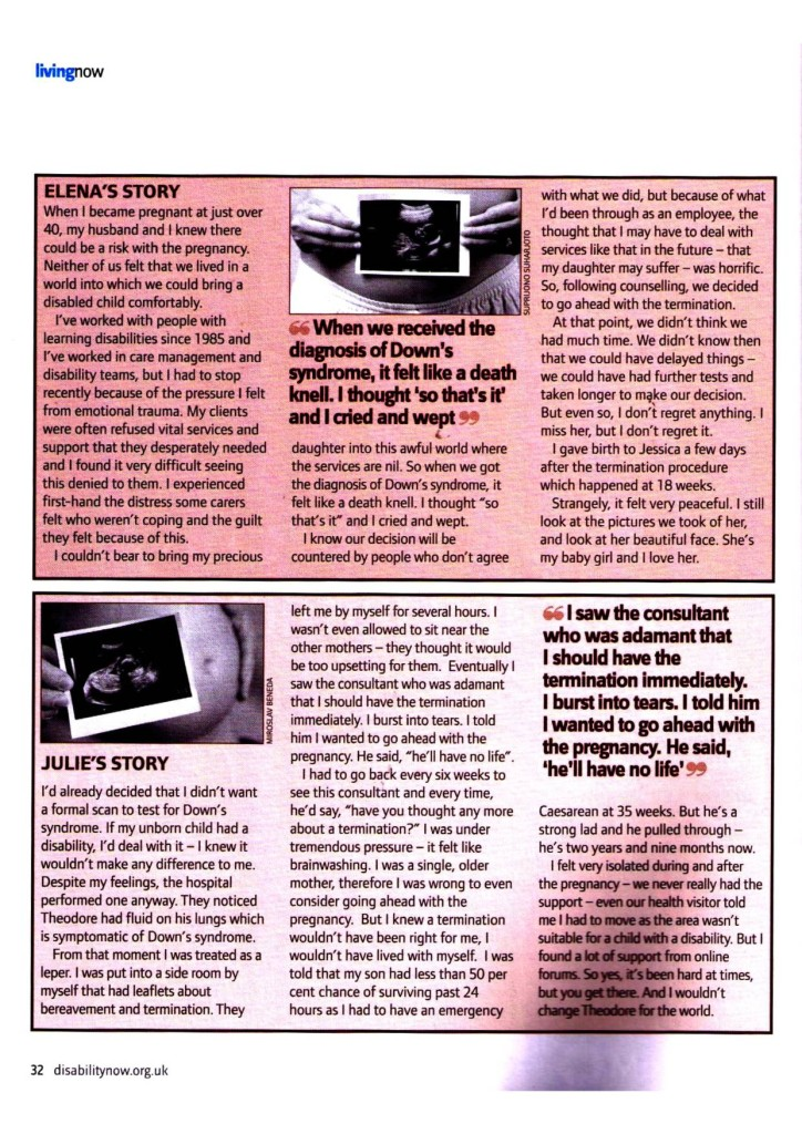 Disability Now  February 2011