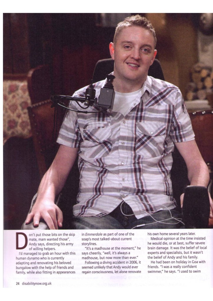 Disability Now   June 2011