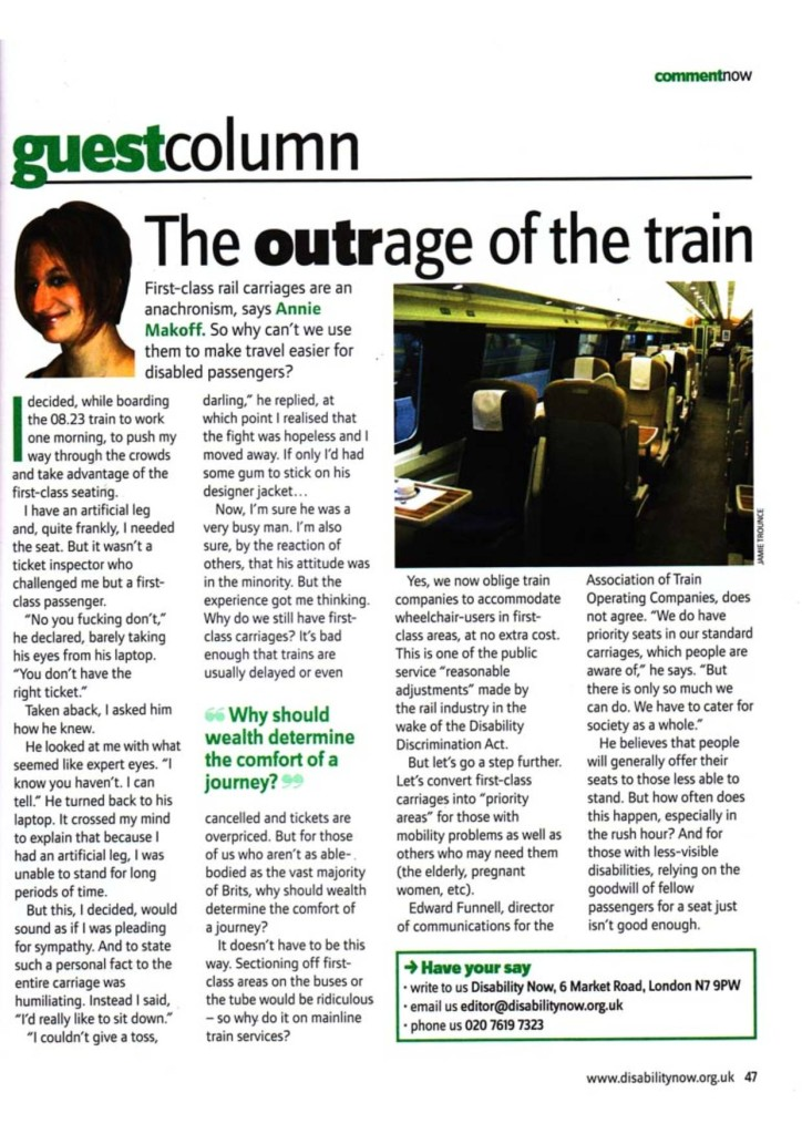 Disability Now  June 2008